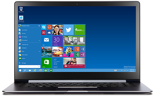 Download Windows10 Technical Preview